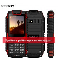 Противоударный и водонепроницаемый телефон XGODY c 2 симкартами